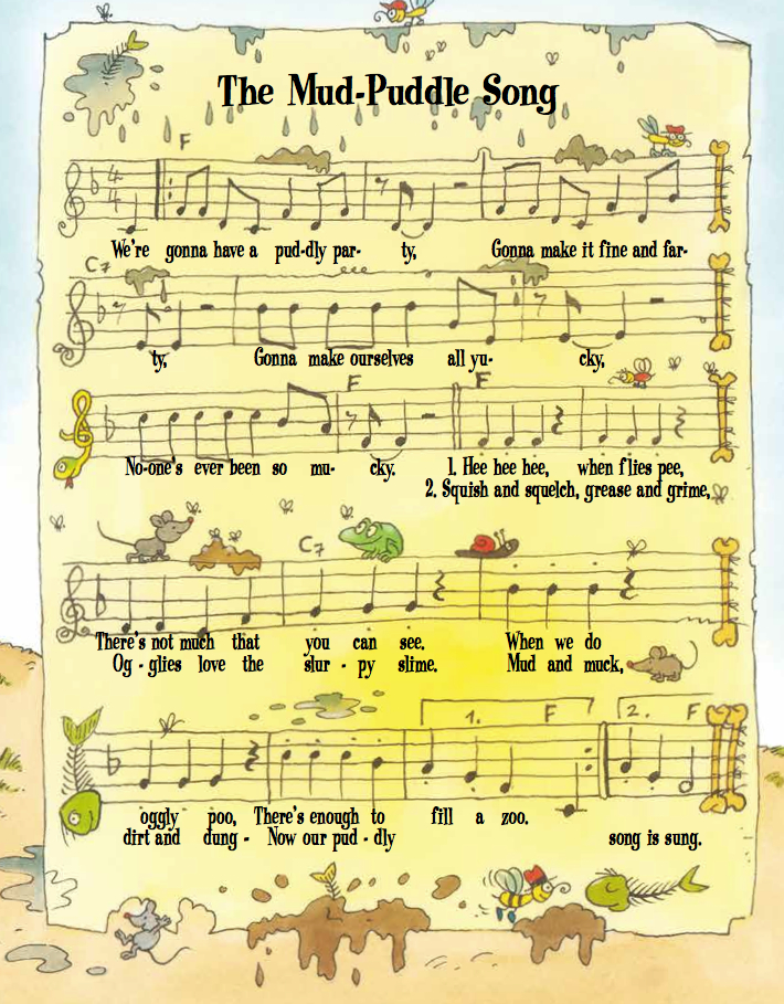 mud puddle song
